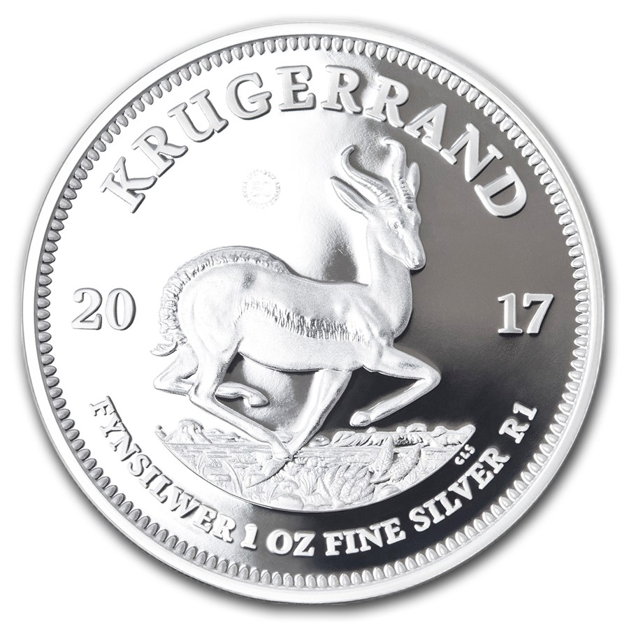 1 Oz Krugerrand Silver Coin 2017 Mad 4silver Co Uk