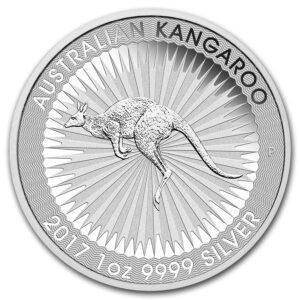 Australian kangaroo 1oz Silver Coin