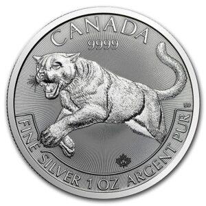 Canadian Predator Series Silver Coins