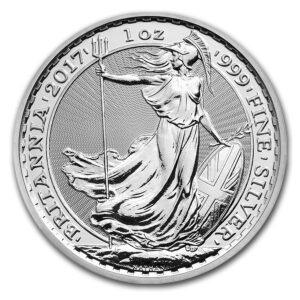 Britannia 1oz Silver Coin