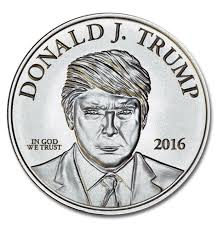 1oz silver Trump Make America Great Again