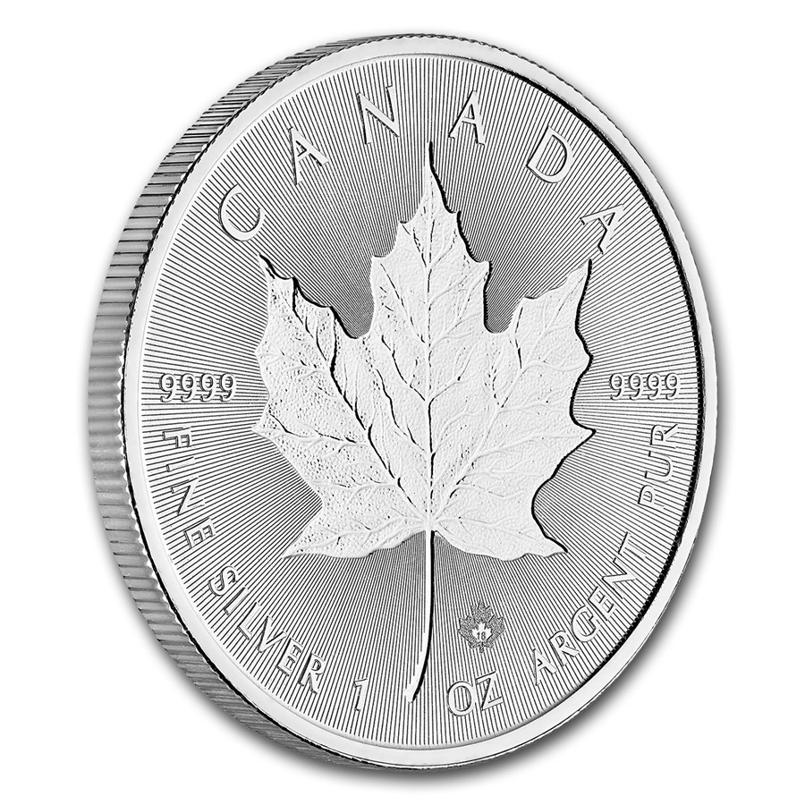 1 Oz Silver Incuse Maple Leaf 2018 Canada16 Mad 4silver